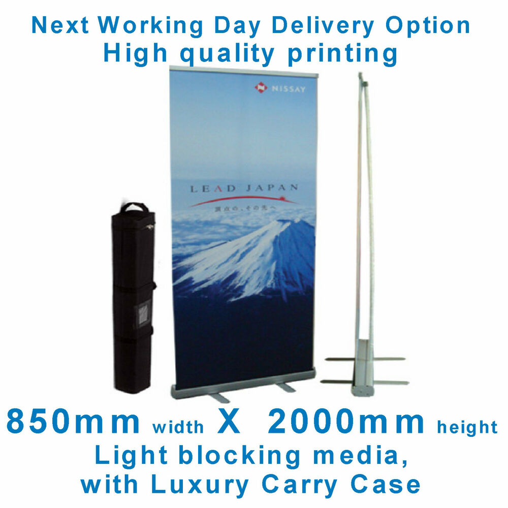 Exhibition Stand Roll Up : Roller banner pop roll pull up exhibition display stand