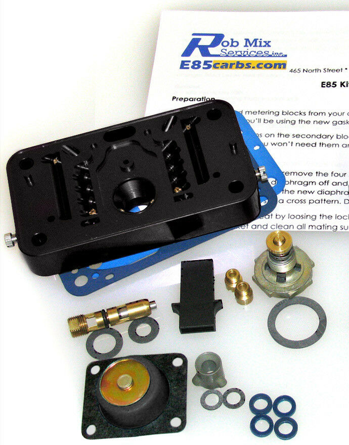 4412 or 2300 e85 conversion kit for holley 500 350 2 br carb blk do it yourself ebay. Black Bedroom Furniture Sets. Home Design Ideas