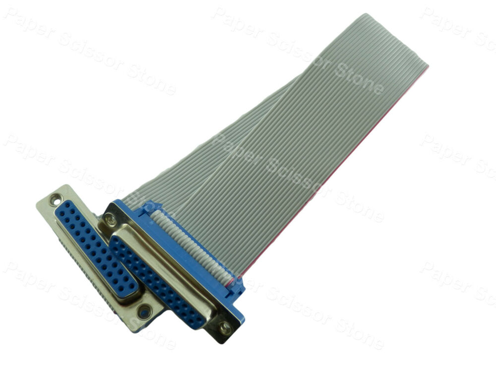 12 Inch Db25 Female To Female Rs232 Serial Parallel Port