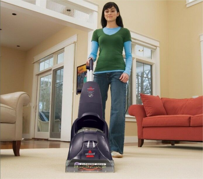 Carpet Steam Cleaner Spot Hot Water Bissell Upright Home