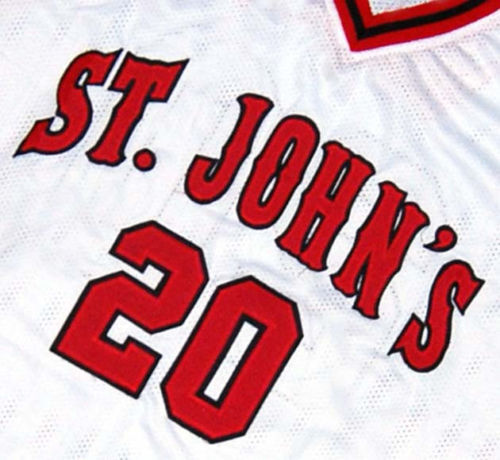 c637b4c02a5 Details about CHRIS MULLIN ST. JOHN'S UNIVERSITY JERSEY White NEW ANY SIZE
