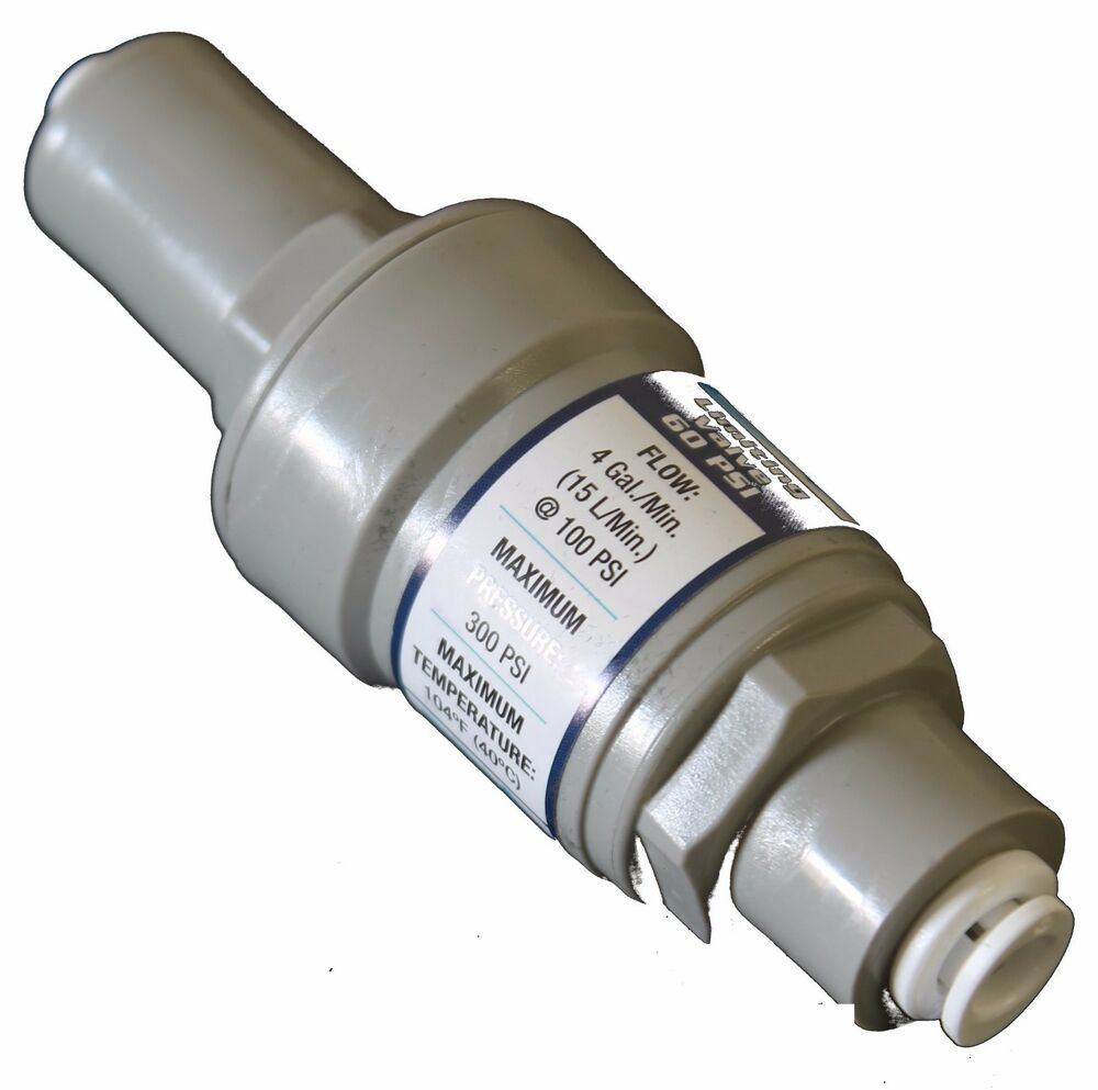 Pressure Regulator Filter Protection Quick Connect Valve