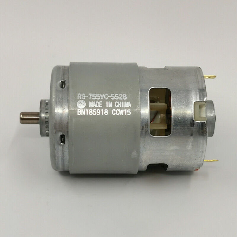 Dc 12v 30v 24v 4000rpm large torque johnson rs 555 motor for Johnson electric dc motors