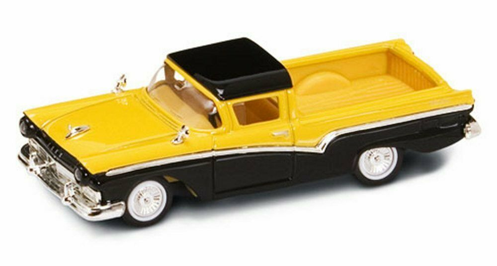 Toy Model Gallery : Ford ranchero pickup truck yellow yatming