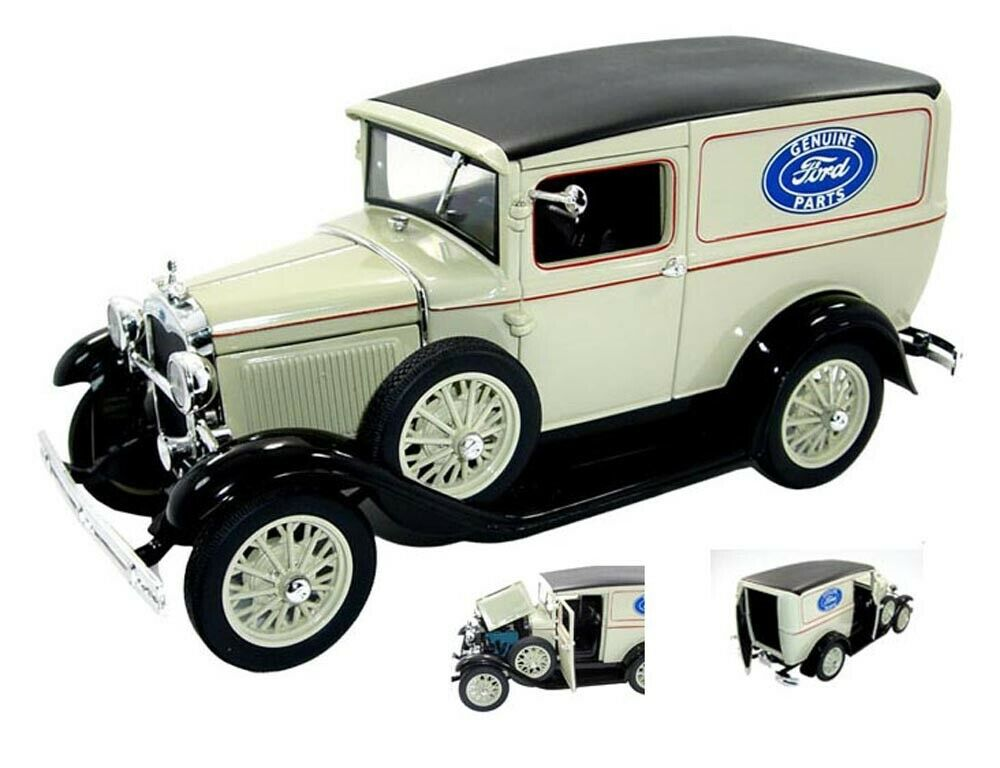 1931 ford delivery truck tan signature models 18137 1 18 scale diecast car ebay. Black Bedroom Furniture Sets. Home Design Ideas