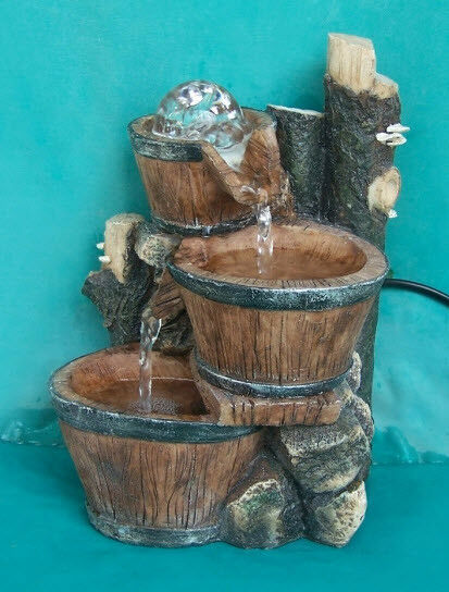 Feng shui tabletop indoor unique style water fountain ebay for Water feature feng shui