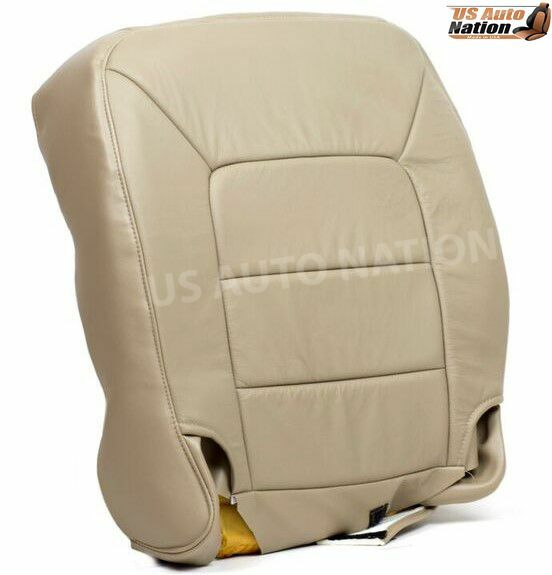 2003 2004 2005 2006 ford expedition bottom replacement leather seat cover tan ebay. Black Bedroom Furniture Sets. Home Design Ideas
