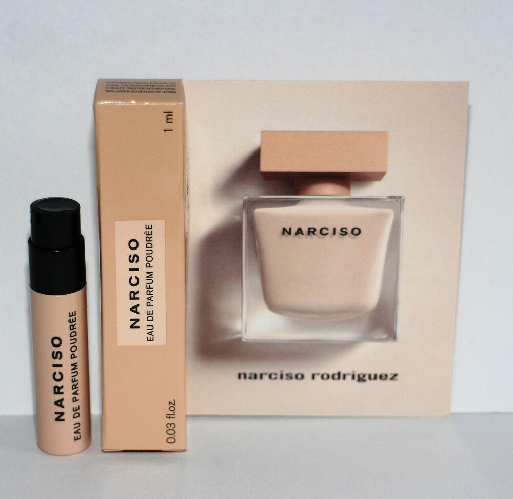narciso rodriguez narciso eau de parfum poudree 1ml sample new boxed ebay. Black Bedroom Furniture Sets. Home Design Ideas