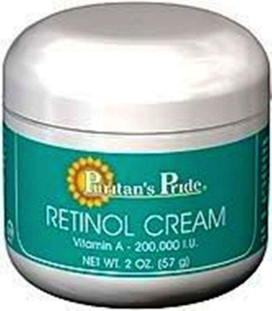 retinol cream vitamin a 100 000 iu per oz puritan 39 s pride for lovely skin ebay. Black Bedroom Furniture Sets. Home Design Ideas