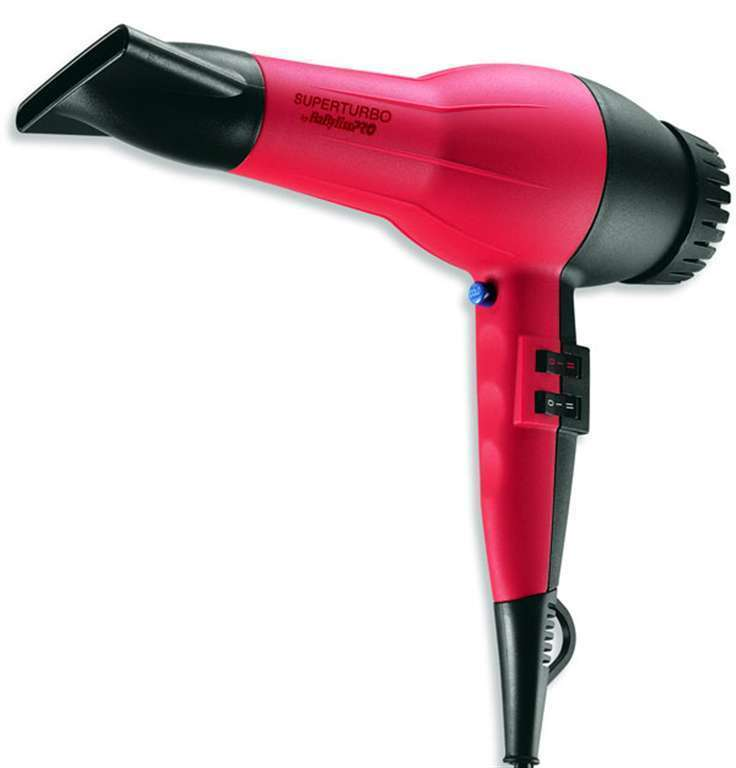 Babyliss Super Turbo Professional Hair Dryer BAB307C
