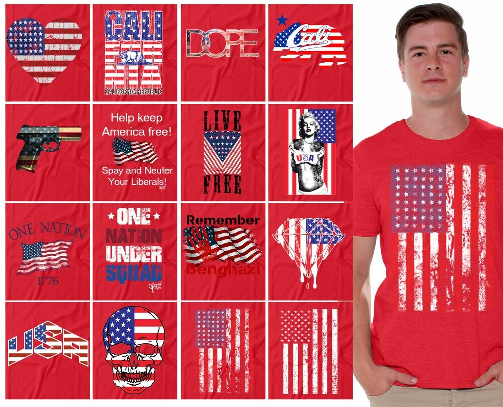 All 4th Of July T Shirt Independence Day American Stars