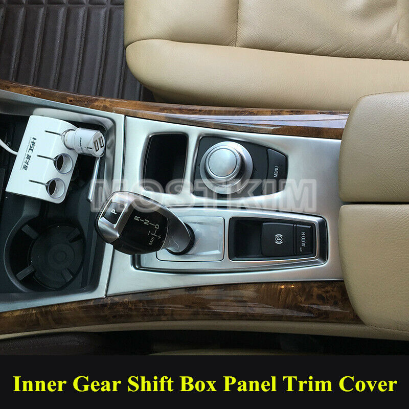 interior car gear box panel cover trim for bmw x5 e70 2008. Black Bedroom Furniture Sets. Home Design Ideas
