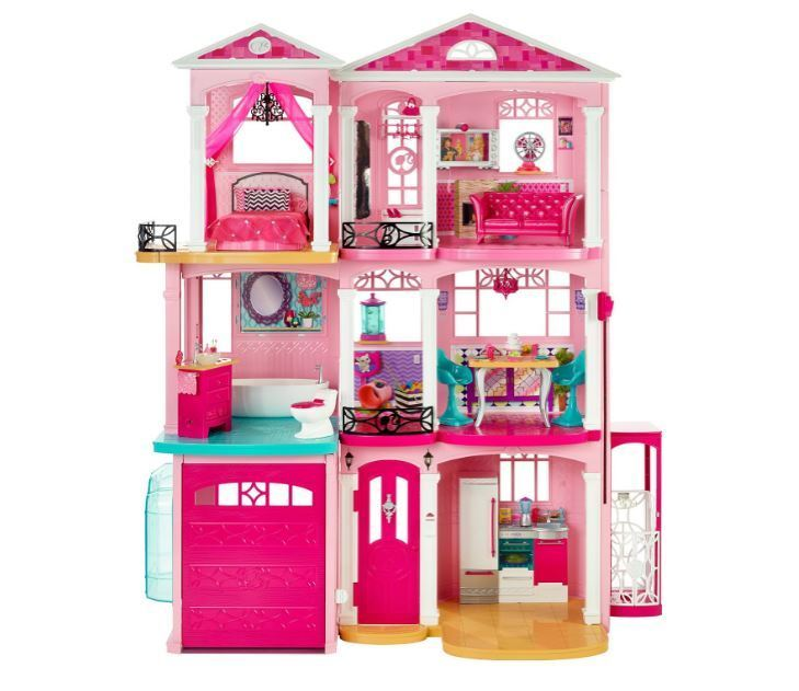 Barbie Dream House Dollhouse Glam Playset Vacation Mansion 3 Story Furniture New Ebay