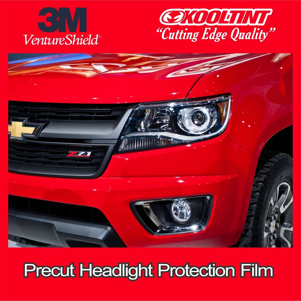 headlight protection film by 3m for the 2013 2016 chevrolet colorado ebay. Black Bedroom Furniture Sets. Home Design Ideas