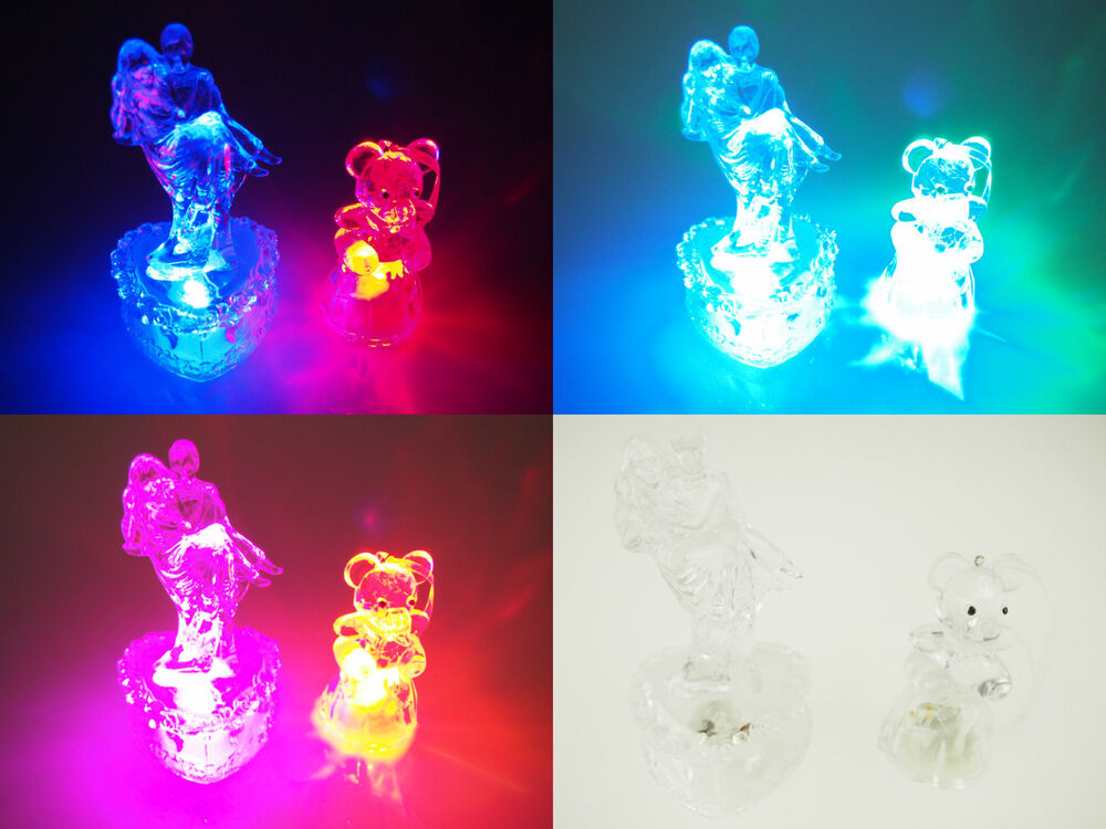 lighted wedding cake toppers led lighted cake topper venue table decoration acrylic 16868