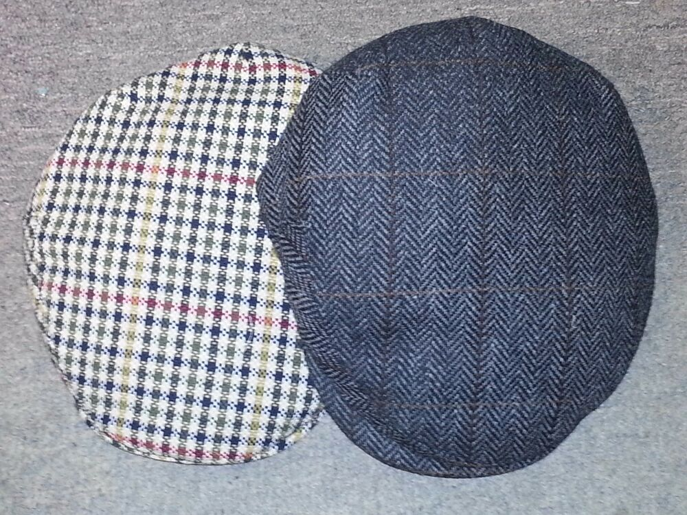 1adccab7186 Details about KANGOL TWEED PEEBLES CAP Made in ITALY-5 Colors-NWT