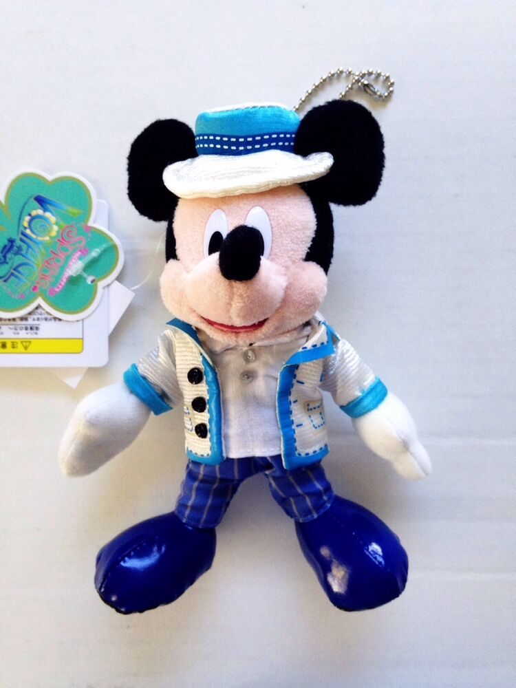 Disney store japan mickey mouse spring voyage keychain nwt ebay - Disney store mickey mouse ...