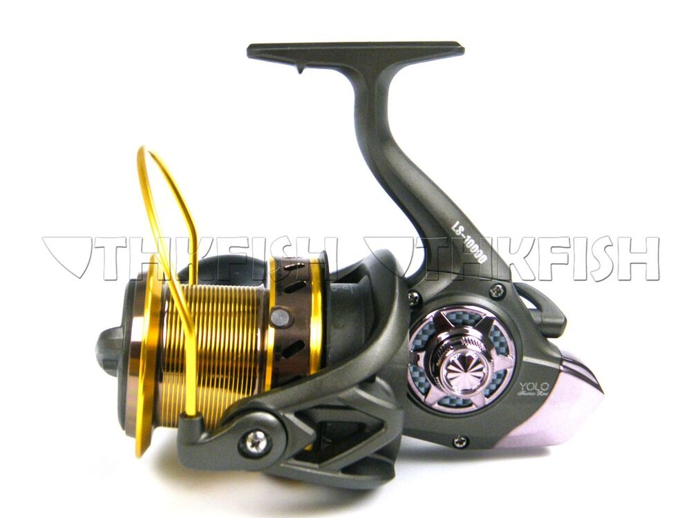 Yolo 13bb big saltwater surf casting spinning fishing for Surf fishing reels