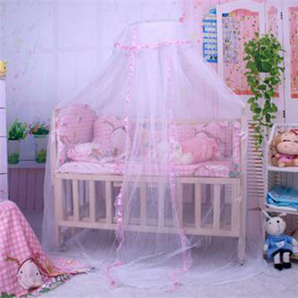Baby Canopy For Crib: Cute Baby Princess Canopy Crib Netting Dome Bed Mosquito