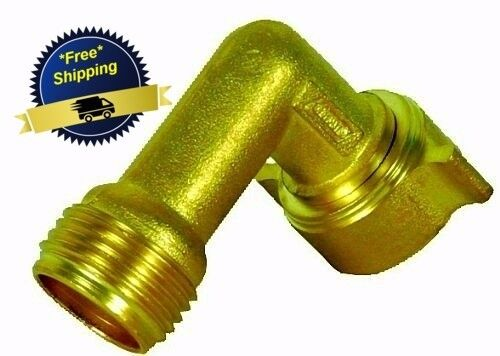Camco RV 22505 Fitting Fresh Water Hose 90 Degree Elbow