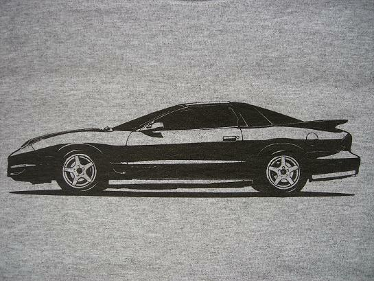 2002 ws6 trans am t shirt 1998 2002 pontiac ta ram air ebay. Black Bedroom Furniture Sets. Home Design Ideas