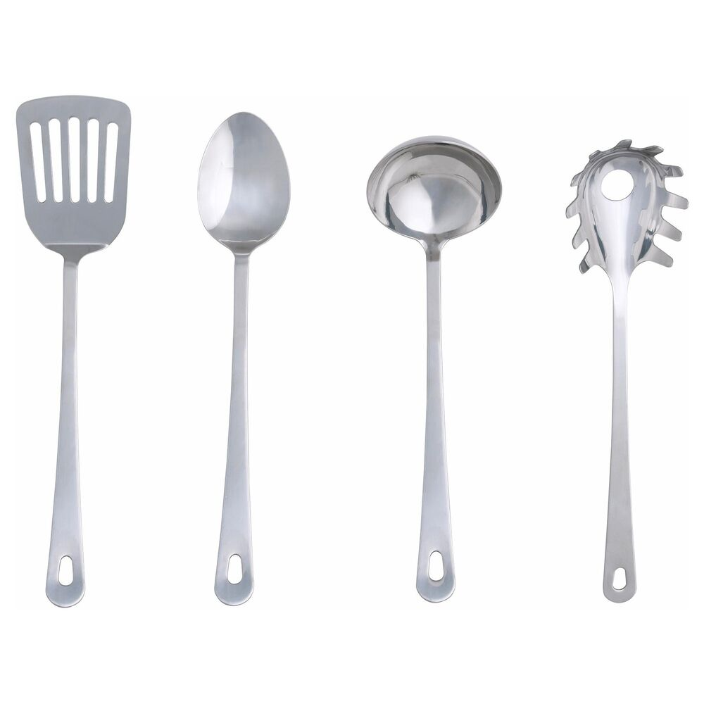 NEW IKEA 4-piece kitchen utensil set, stainless steel ...