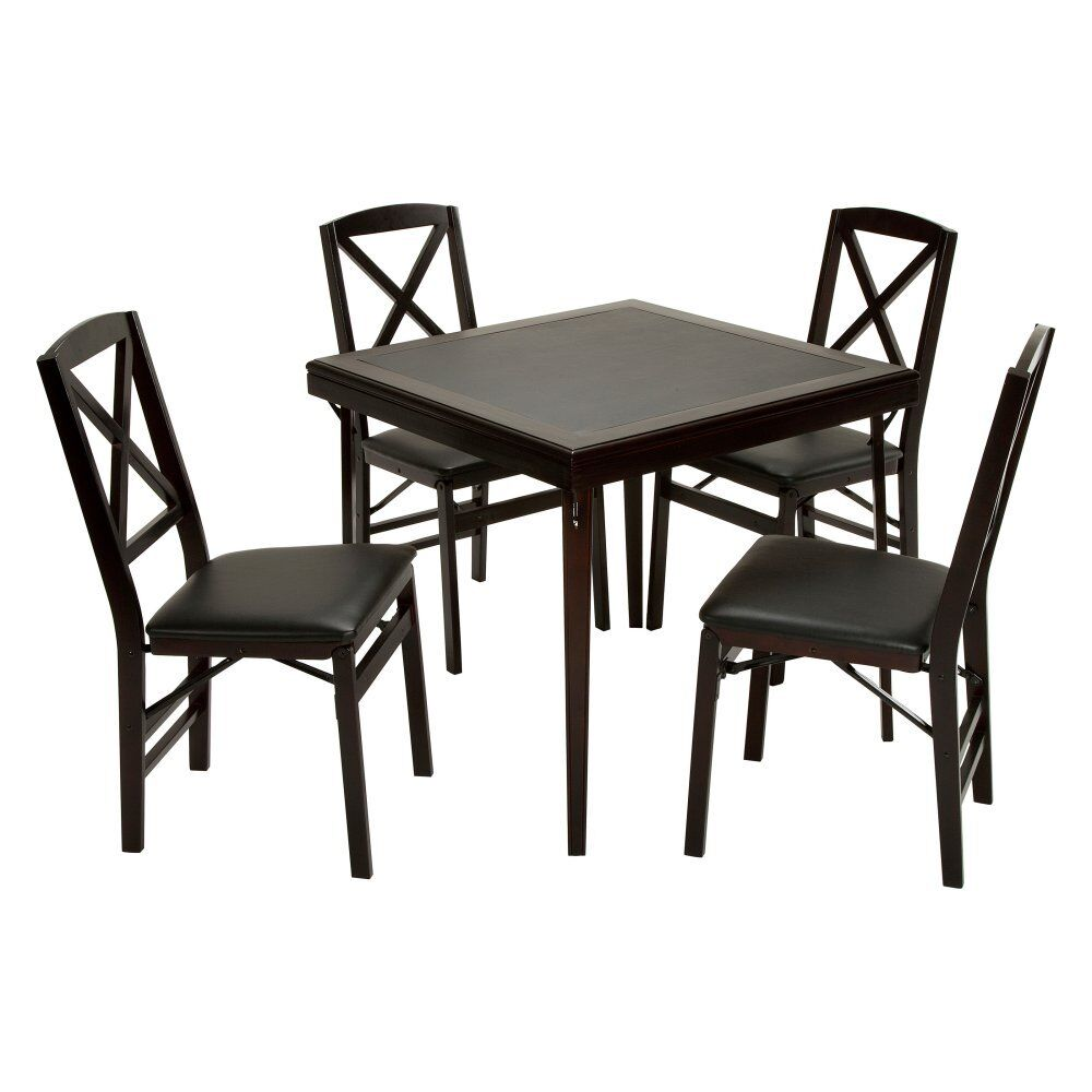 Cosco 32 In Square Premium Wood Folding Card Table