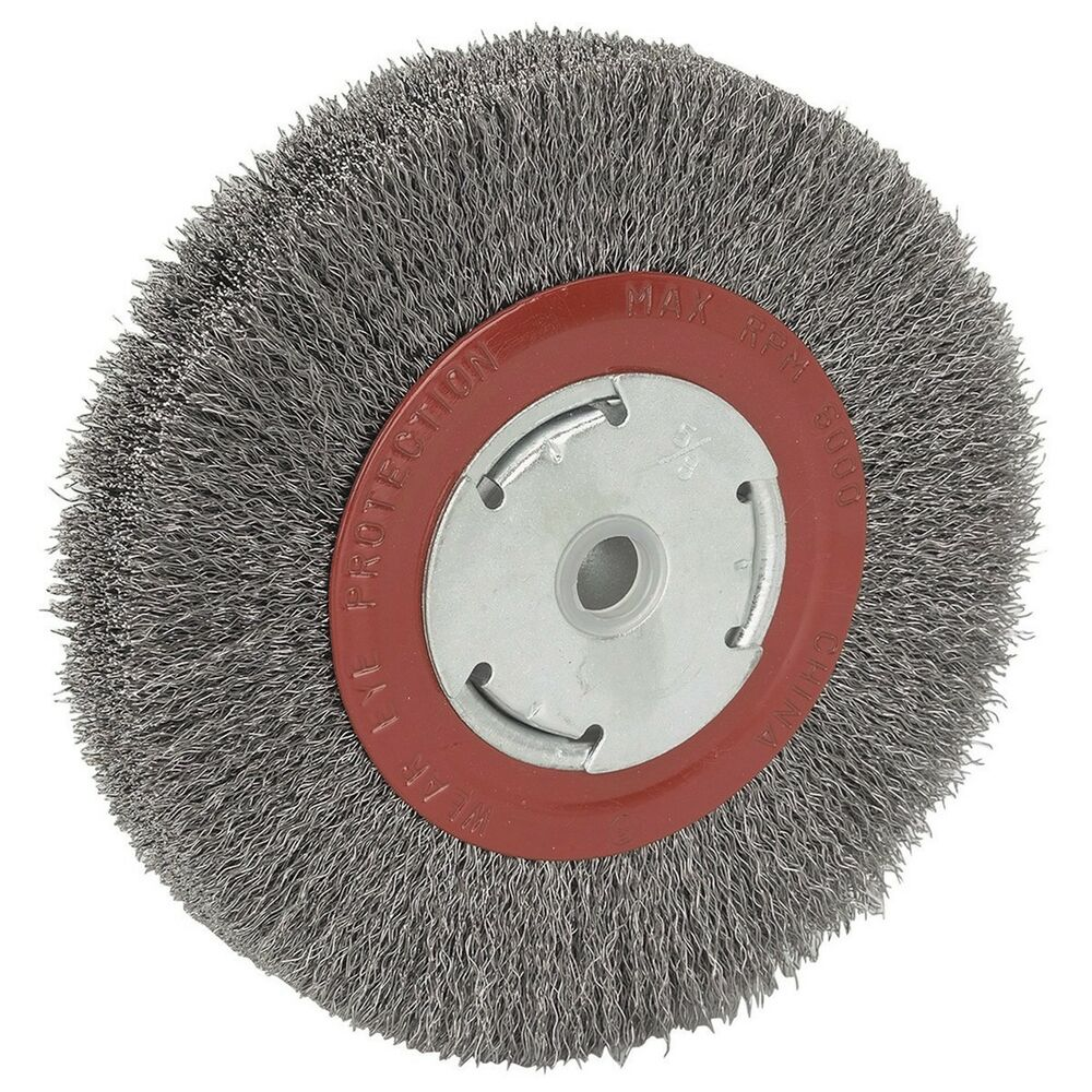 6 Quot Inch Round Wirewheel Steel Wire Brush Wheel For Bench