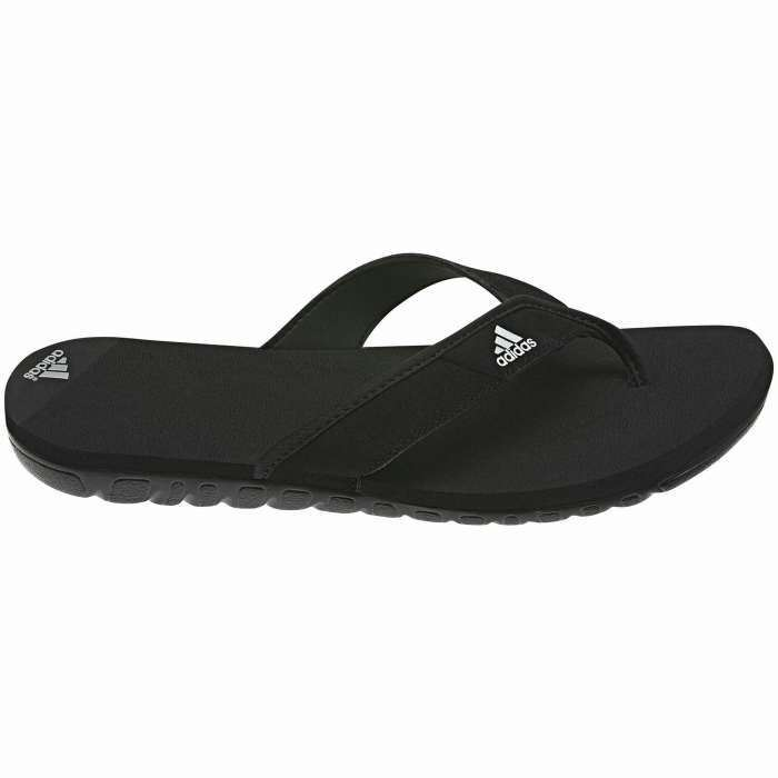 adidas calo leather slides 045658 mens flip flops swim beach summer ebay. Black Bedroom Furniture Sets. Home Design Ideas
