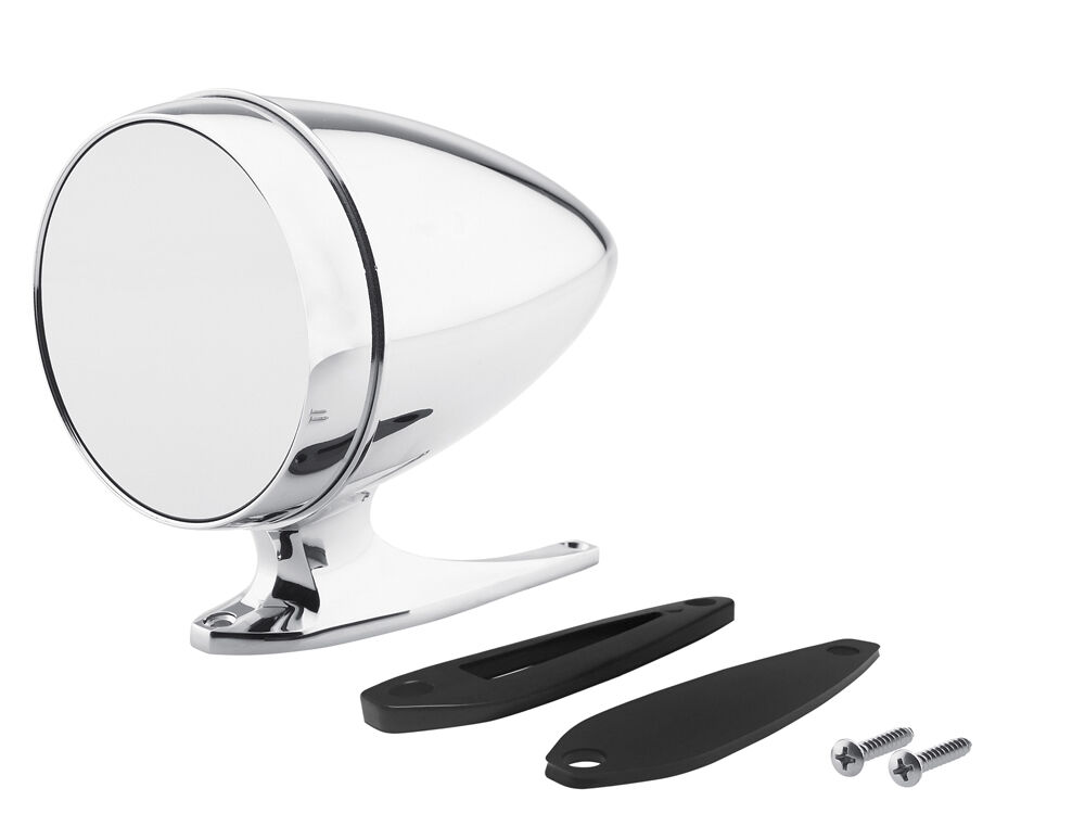 New Ford Mustang Shelby Bullet Style Chrome Mirror Gt350