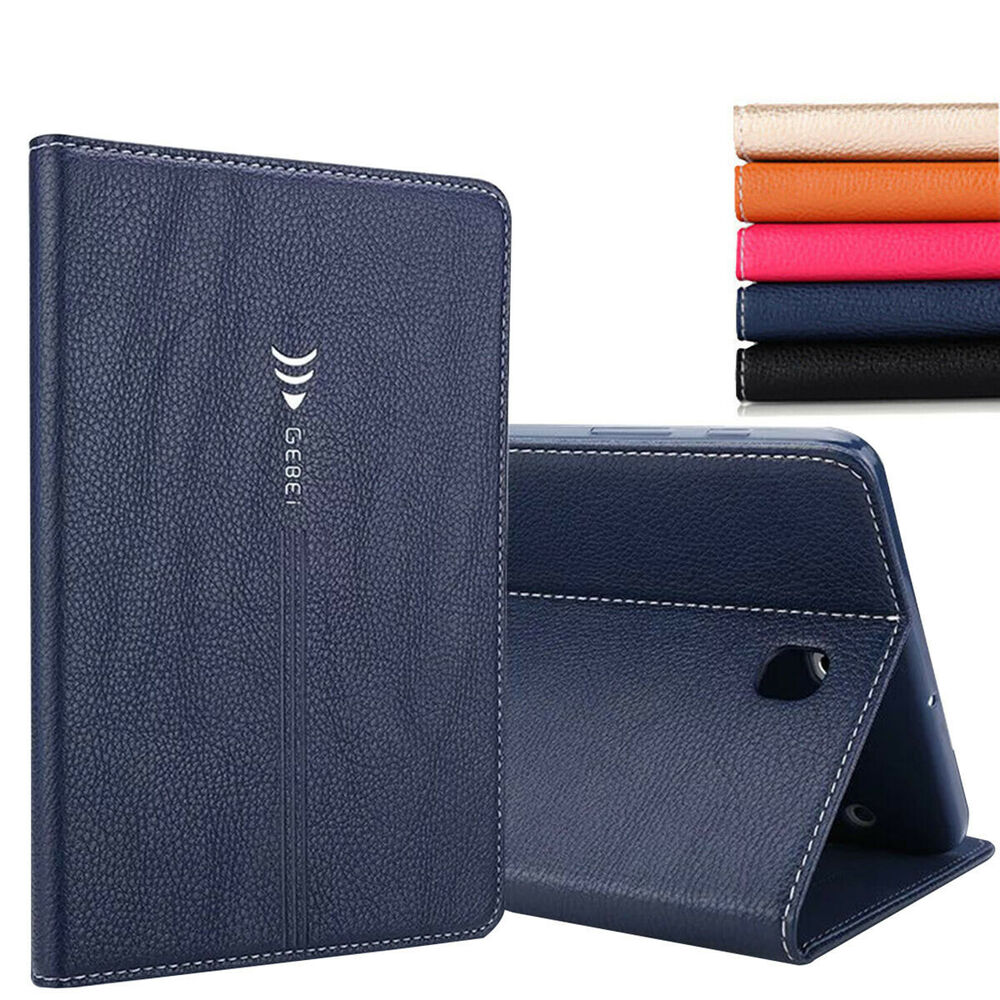 Folio Leather Smart Case Cover for Samsung Galaxy Tab S2 8.0