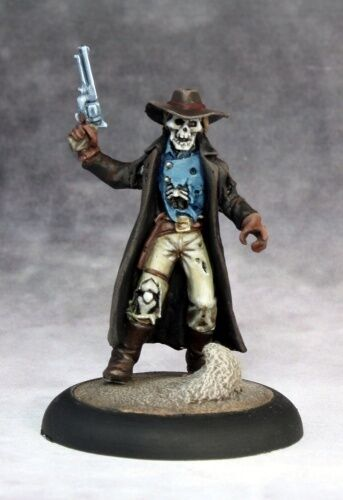 Undead Outlaw Reaper Miniatures Savage Worlds Skeleton ...
