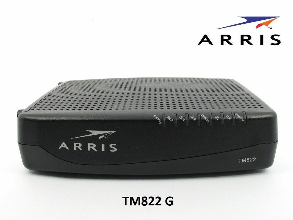 Arris Tm822g Docsis 3 0 Cable Voip Telephony Modem