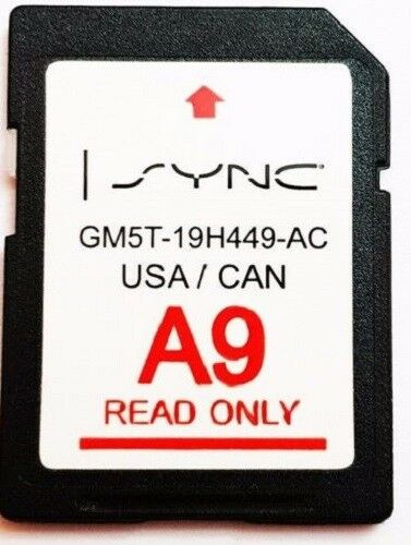 map update navigation sd card sync fits  ford lincoln updates   ebay