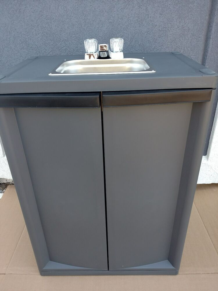 Portable Self Contained Sink With Hot Water  Ebay. New Designs Of Kitchen. Farmhouse Kitchen Design Ideas. Designs For Kitchen Curtains. Japanese Kitchen Designs. 3d Kitchen Design Online. Houzz Kitchen Designs. Simple Home Kitchen Design. Seattle Kitchen Design