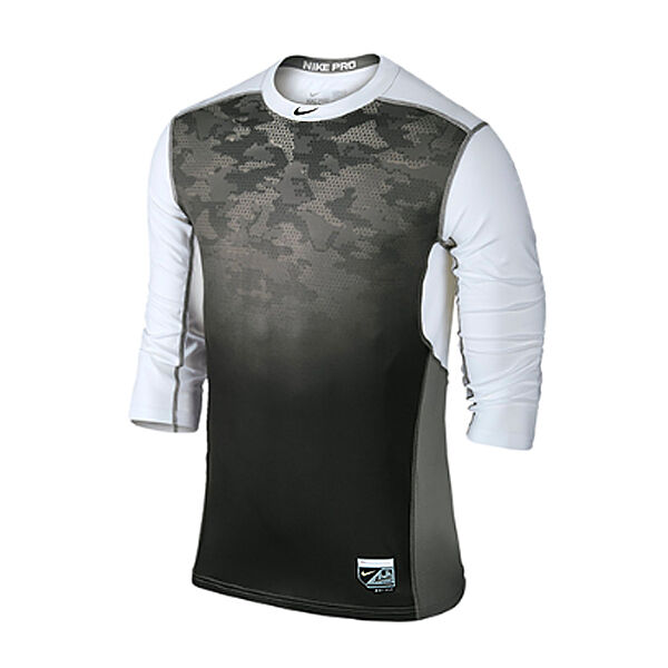 nike hypercool 3 4 sleeve men 39 s training shirts. Black Bedroom Furniture Sets. Home Design Ideas