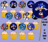 Sonic the Hedgehog Video Game Double-sided Images Cupcake Picks Cake Topper -12