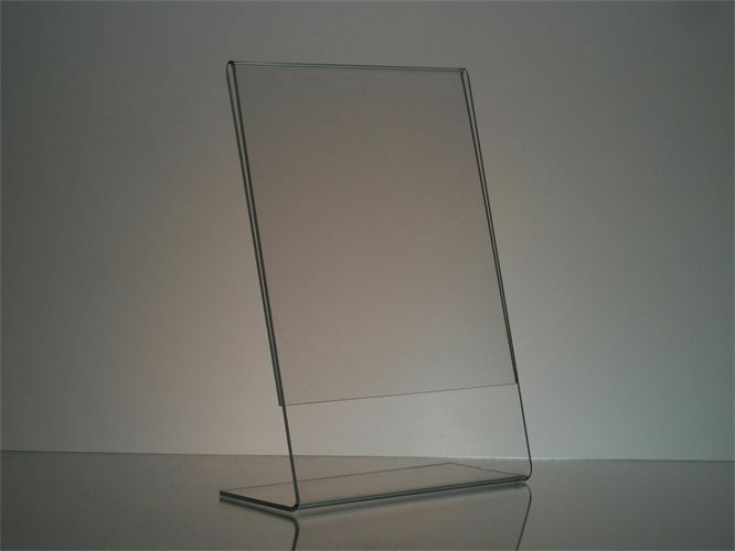 1 stand up acrylic picture frame 5 x 7 ebay