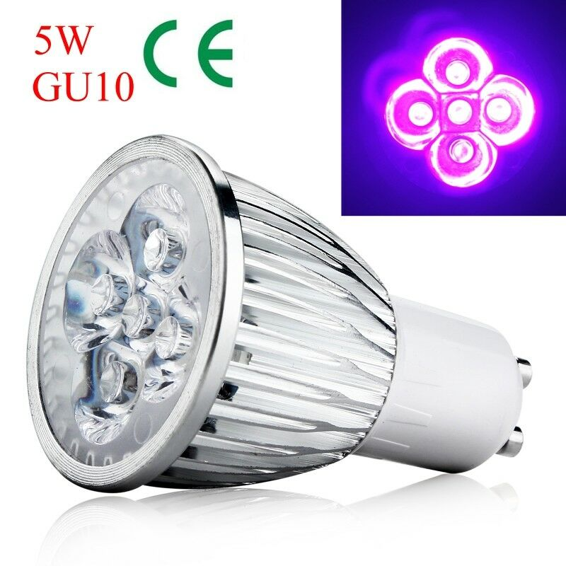 gu10 5w sockel uv led uv led strahler lampe home lampe ac 85 265v great ebay. Black Bedroom Furniture Sets. Home Design Ideas