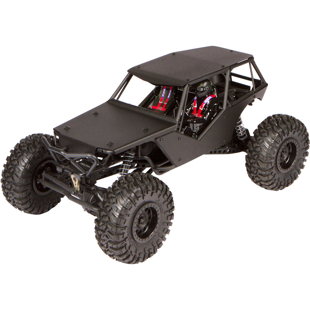 black aluminum axial wraith body panel kit with full roof ax04027 ebay. Black Bedroom Furniture Sets. Home Design Ideas