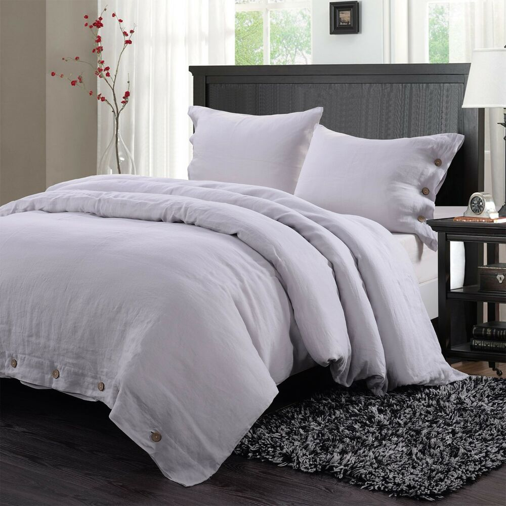 Simple Opulence 100 Washed Linen Coconut Wood Deduction