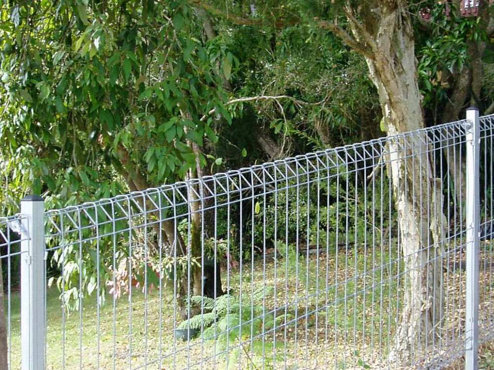 Arc Banksia Weldmesh Roll Top Wire Fence Panel Galvanised