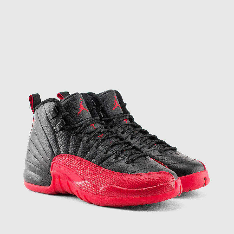 air jordan 12 retro bg gs flu game 2016 release 153265 002 great price 4 7 ebay. Black Bedroom Furniture Sets. Home Design Ideas