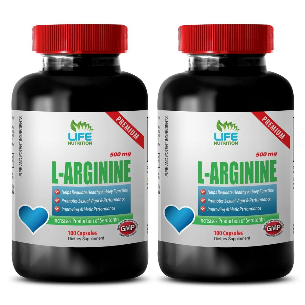 Protein Supplements - L-Arginine 510mg - Muscle Mass ...
