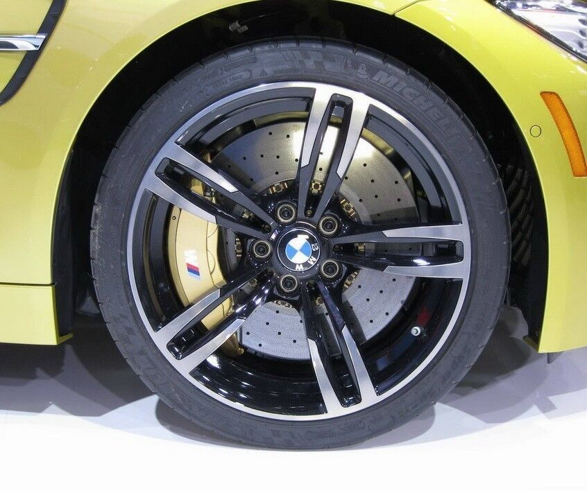 Bmw F82 F83 M4 F80 M3 Genuine M Double Spoke 437m 19 Quot Wheels Rim Wheel Set New Ebay
