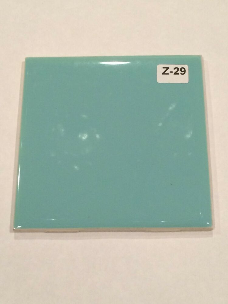 Z 29 1 Piece New Vintage Is Ceramic Wall Tile Turquoise
