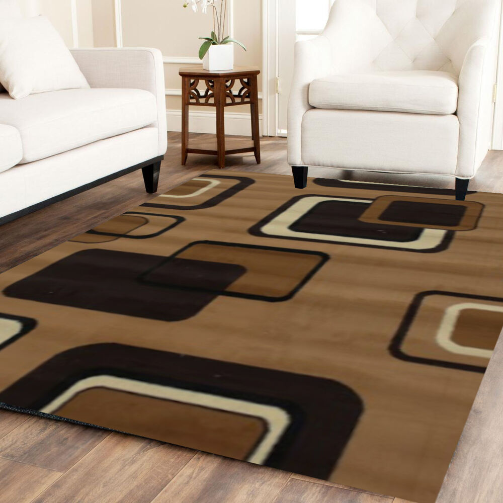 Luxury modern area rugs 8x10 rug flower carpet living room for Dining room rugs 5x7