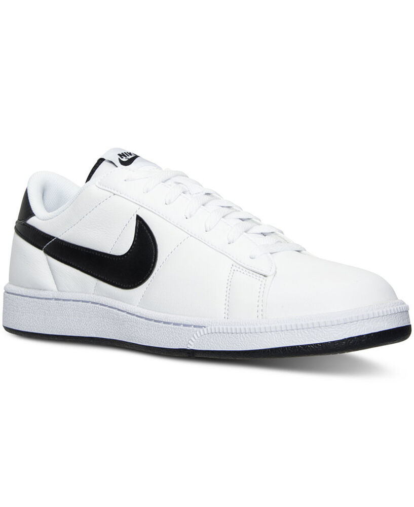 new nike tennis classic s shoes white black 312495 129