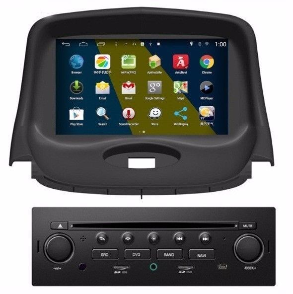 in dash car gps navigation dvd radio stereo for peugeot 206 2004 2008 canbus ebay. Black Bedroom Furniture Sets. Home Design Ideas