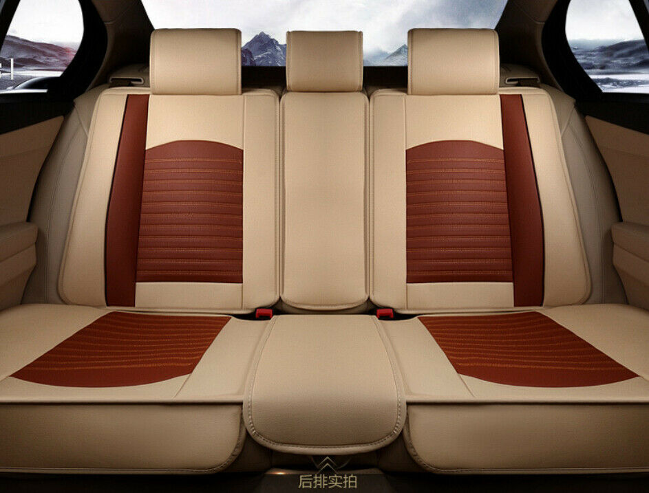 car rear seat cushion cover four seasons pu leather full cover for all car ebay. Black Bedroom Furniture Sets. Home Design Ideas